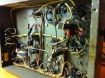 Inside, the original wiring was so nice!