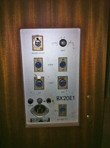 AKG BX20 Panel