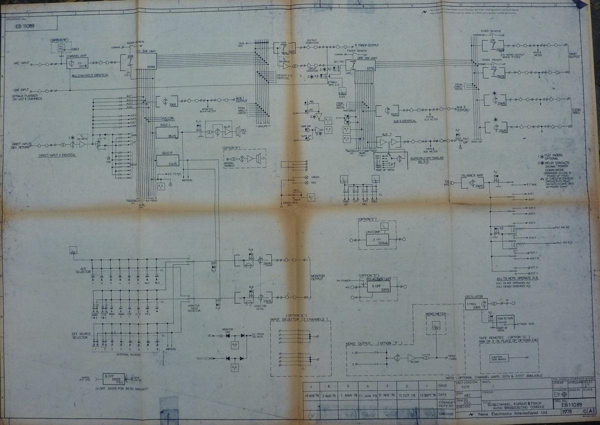 neve 5316 diagrams analog audio repair. Black Bedroom Furniture Sets. Home Design Ideas