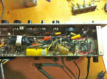 RCA Power Supply Mess - Before Servicing
