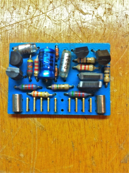 Calrec discrete amplifier card B202/205/210 PCB Front