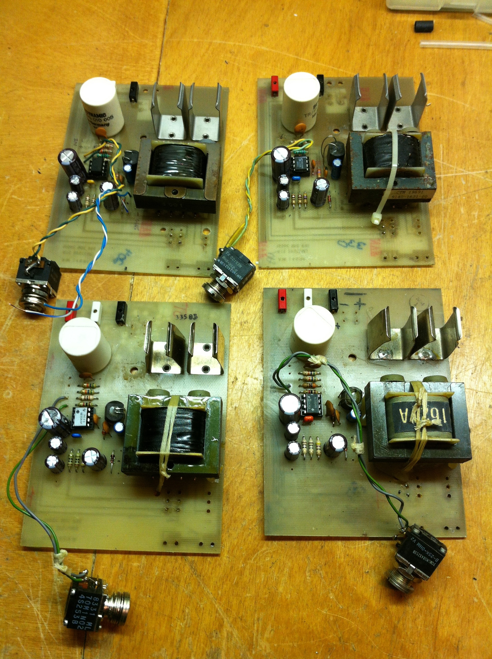 Transformer Analog Audio Repair Mic Preamplifier Circuit Low Noise Microphone Preamp Opto Limiter
