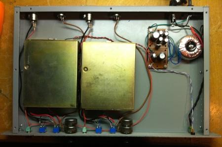 Wiring RCA preamp rack BA-72A