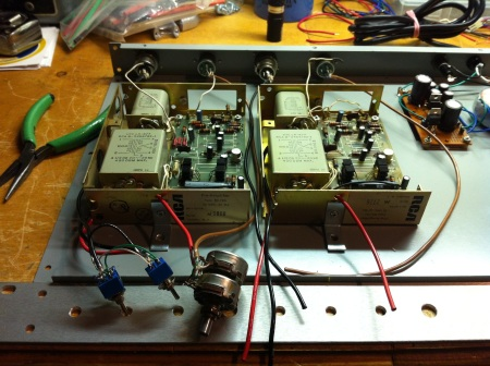 connecting RCA preamps BA series discrete transistor